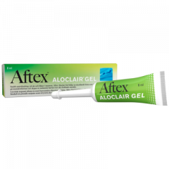 AFTEX ALOCLAIR GEL X8 ML