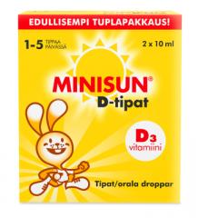 MINISUN DROPS 2X10 ML