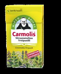 Carmolis Sitruunamelissa Yrttipastilli 45 g