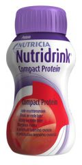 NUTRIDRINK COMPACT PROTEIN MARJAISA 4X125 ML