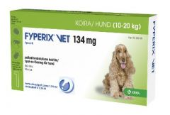 FYPERIX VET 134 mg paikallisvaleluliuos 1,34 ml