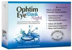 OPHTIM EYE DAY & NIGHT SILMÄTIPAT PIPETIT 15 X 0,2% + 15 X 0,4%  30 PIPETTIÄ