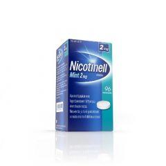 NICOTINELL MINT 2 mg imeskelytabl 96 fol
